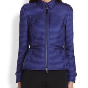 Burberry Quilted ZipUp Indiogo Jacket size M